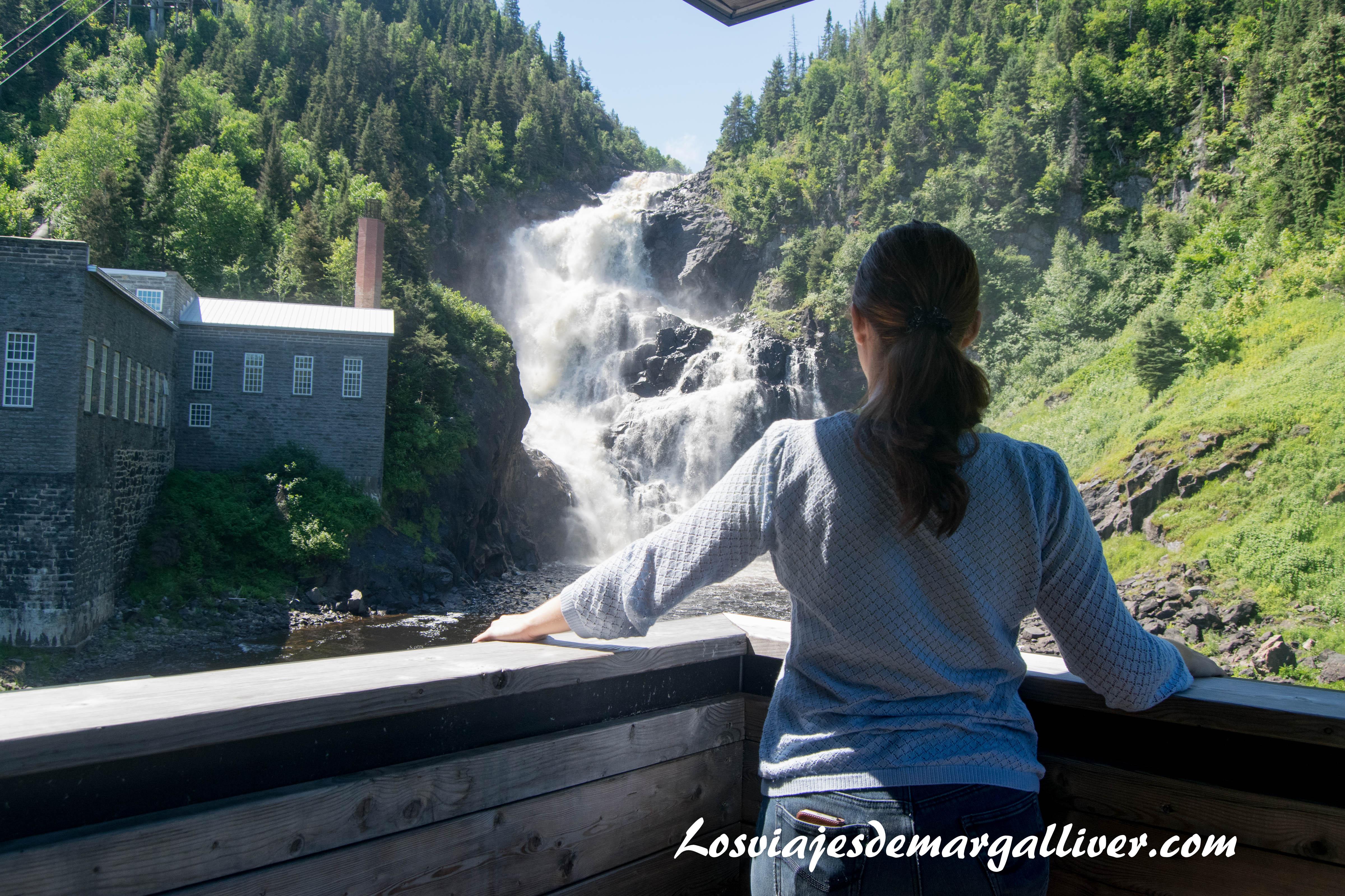 Cataratas de Val-Jalbert , el pueblo fantasma en la ruta por la costa este de Canadá - Los viajes de Margalliver
